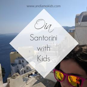 Oia, Santorini with Kids