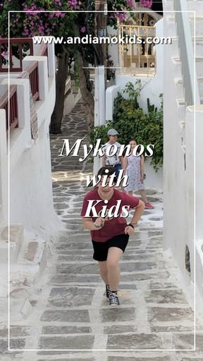 Mykonos with Kids