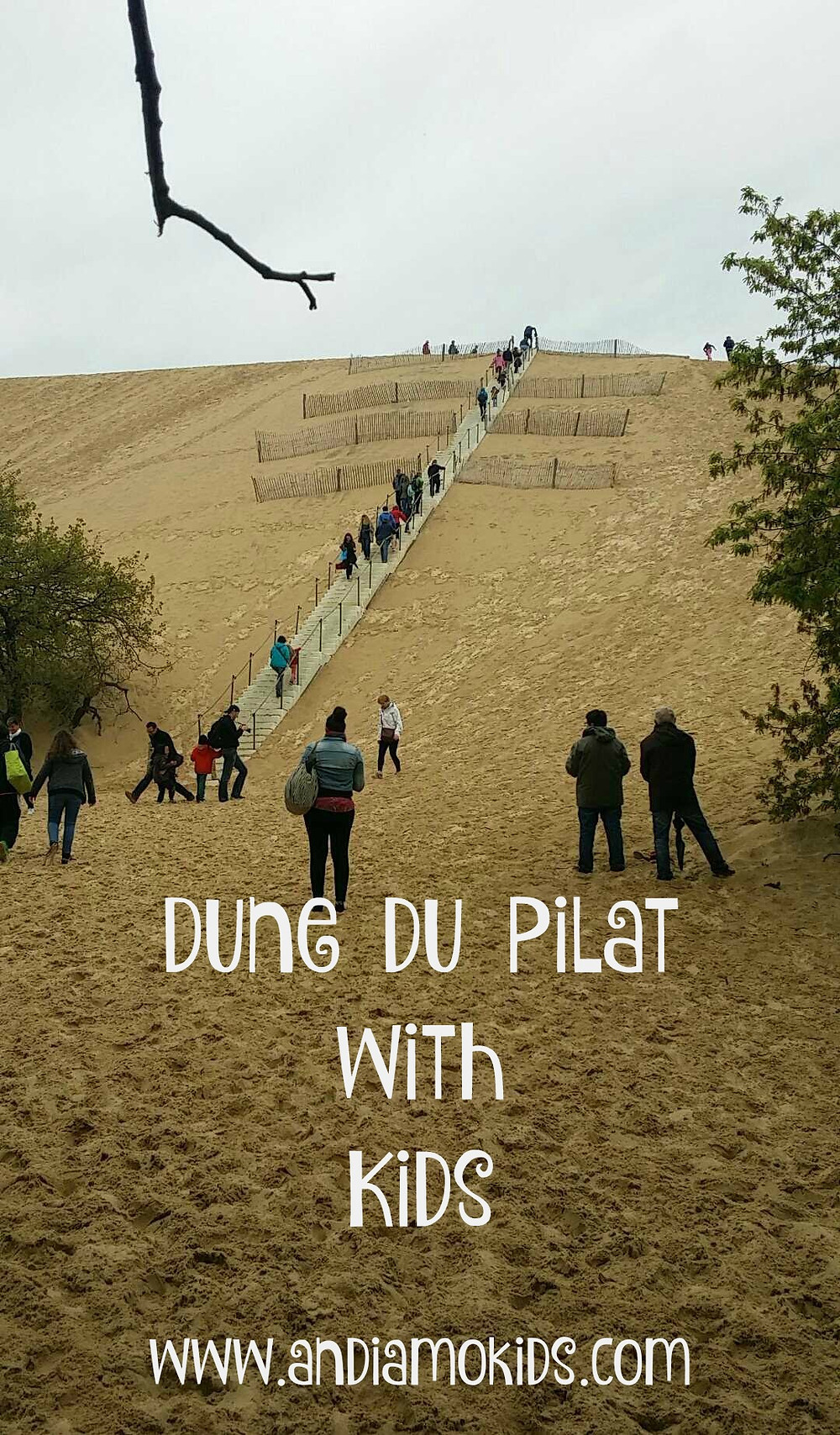 Dune du Pilat with Kids