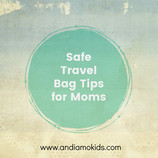 Safe Travel Bags for Moms