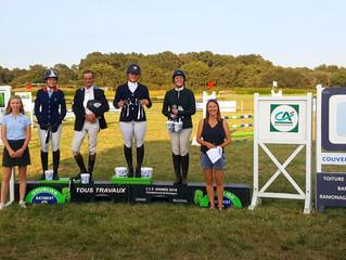 Vannes, 3 podiums !!
