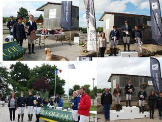 Super résultats au championnat de Bretagne de Dol !