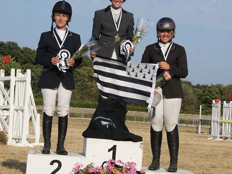 Championnat de Bretagne à Vannes, beau podium en élite !!