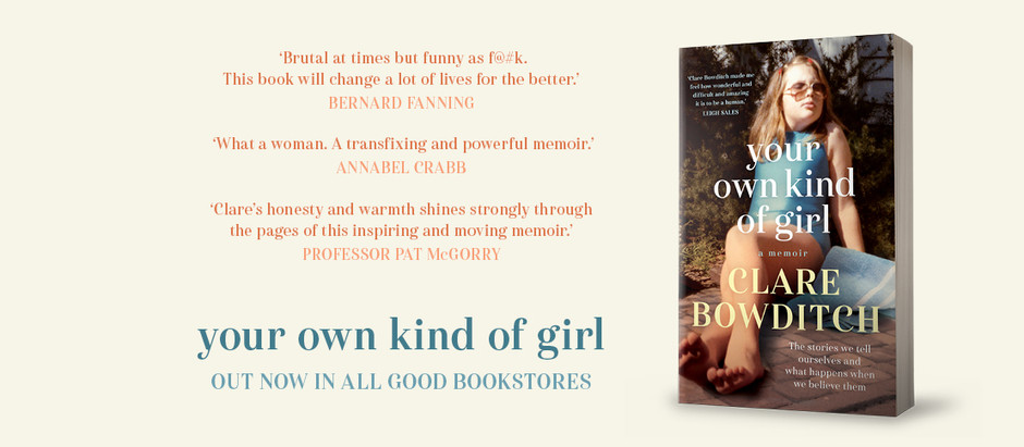 Book Review: your own kind of girl by Clare Bowditch