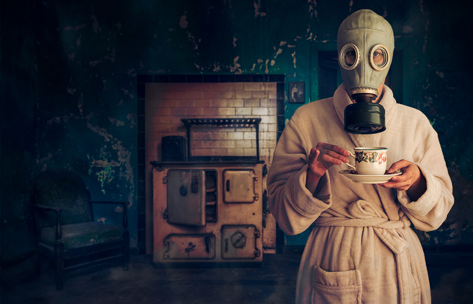 'Toxic Tea' by Mathew Canning ( 12 marks )
