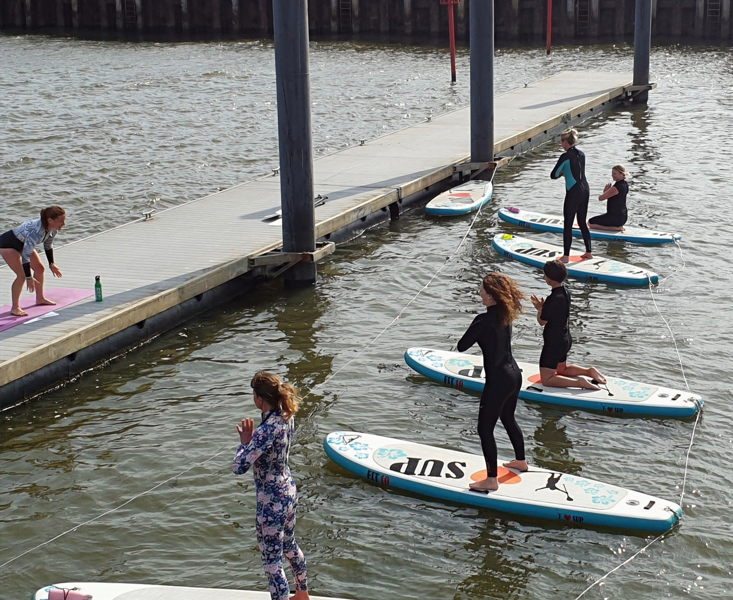 Pop Up Paddle Board Fitness Outdoors