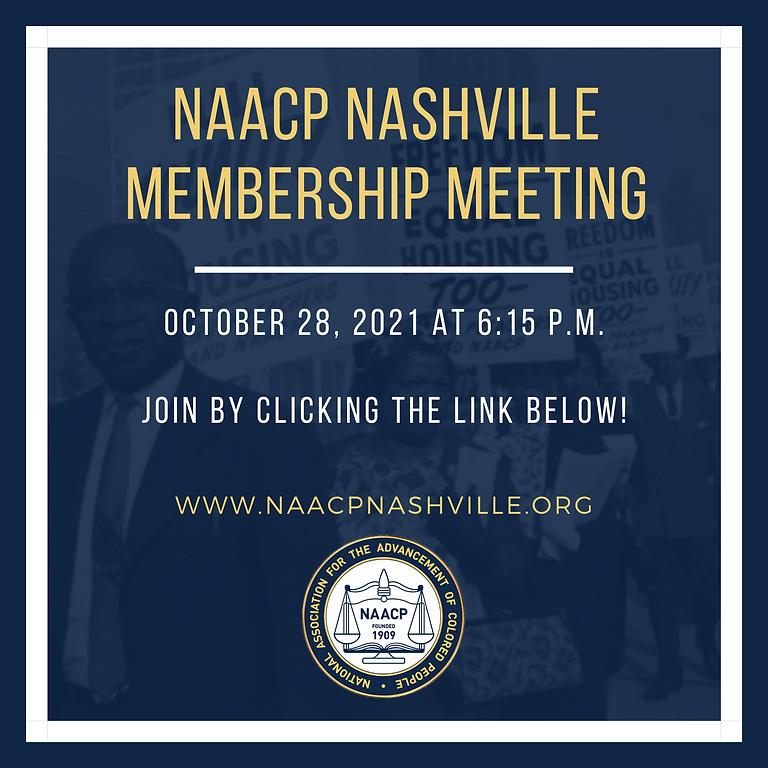 Nashville NAACP General Membership Meeting