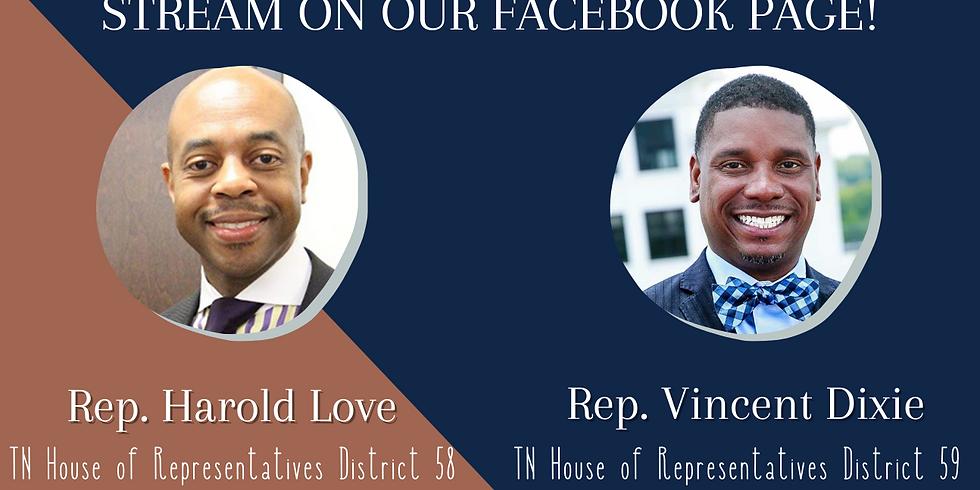 NAACP Nashville Presents: Lunch & Legislation