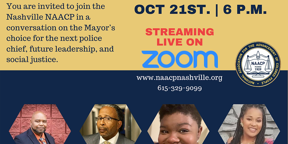 NAACP Police Chief Town Hall