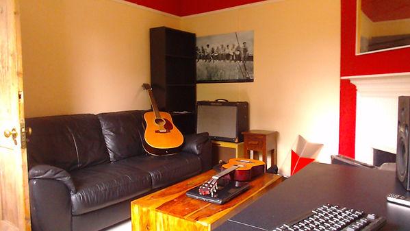 guitar lessons recording studo leamington