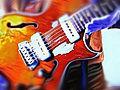 gibson blueshawk guitar red