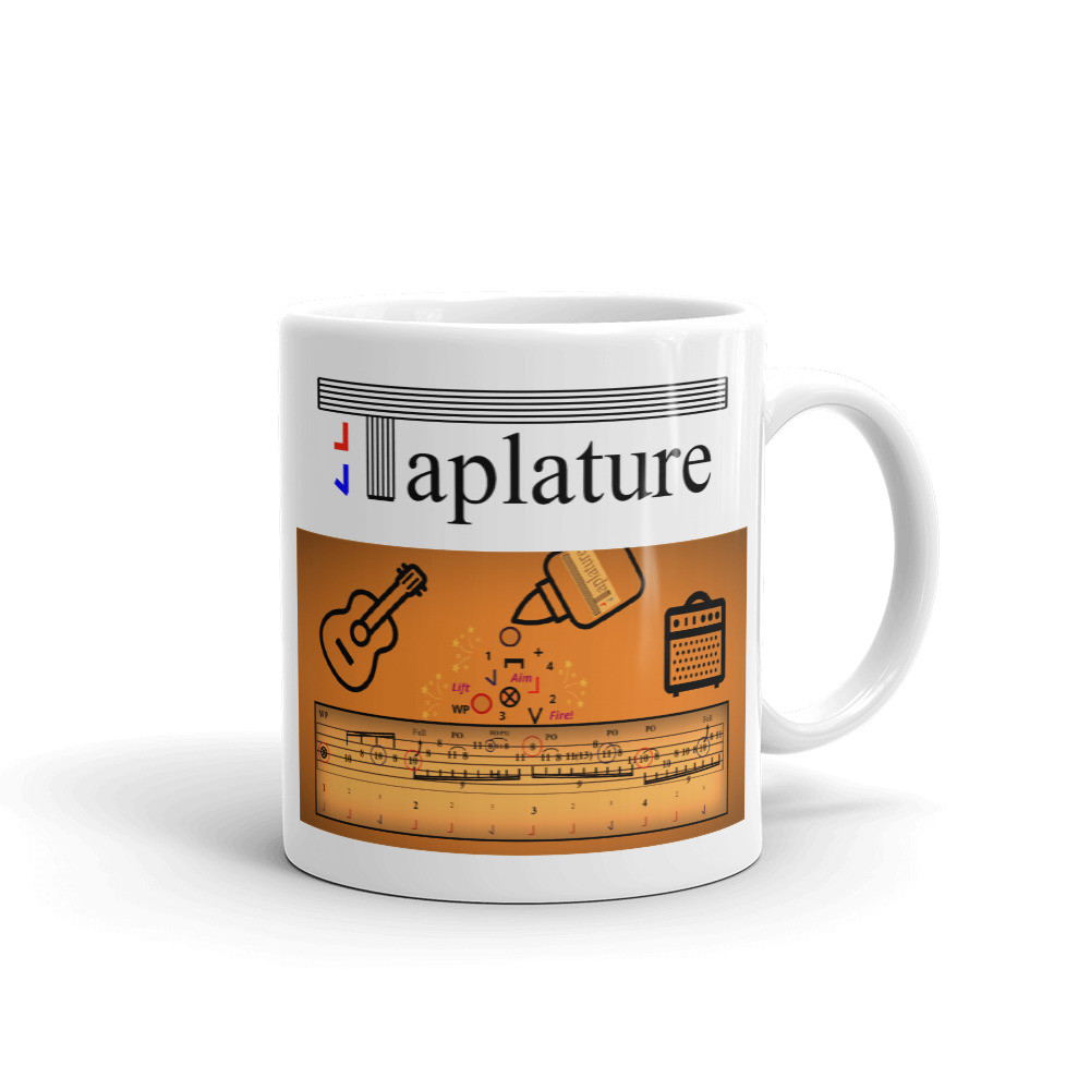 taplature - tap foot while playing guitar