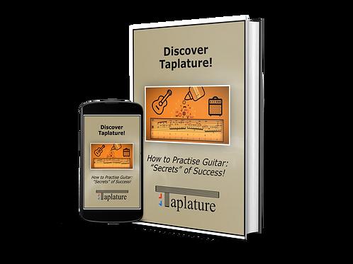 "FREE: ""Discover Taplature!"".  Book plus video."