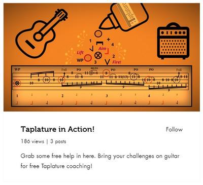 Taplature UK Guitar Practice Foum