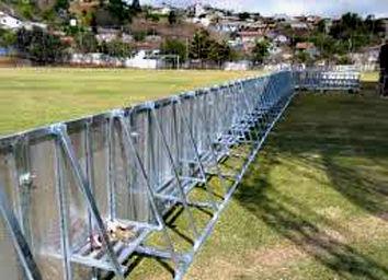 Aluguel de barricadas de alumínio