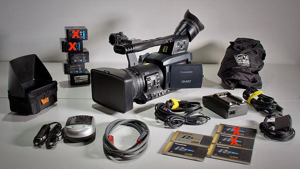 Occasion camescope Panasonic HPX-171