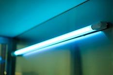 Ultraviolet, UV lamp for sterilizing sur