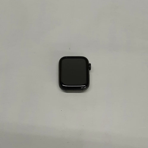 Apple Watch Series 4 Stainless Steel 40mm w/ black sport band (GPS+Cellular)