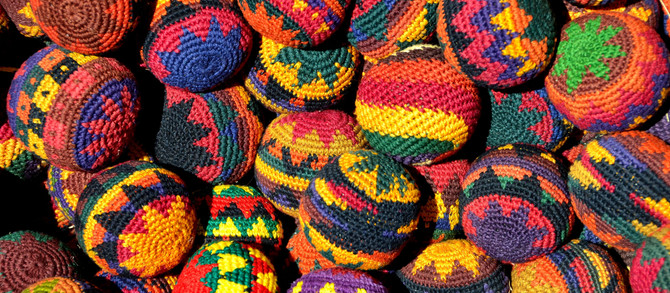 California Bans the Sale of Hacky Sacks Ahead of Earth Day.