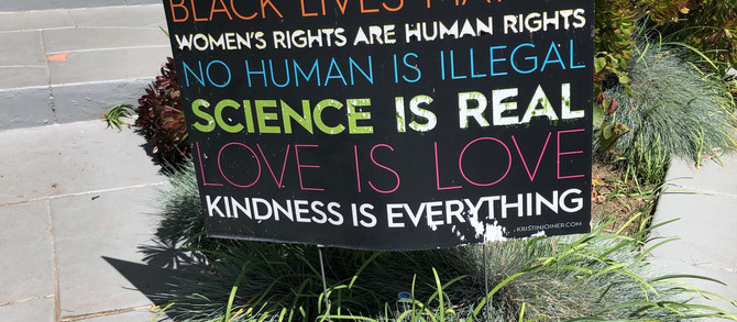 Neighbor Agrees With What Sign Says, Except For The Part About Science Being Real.