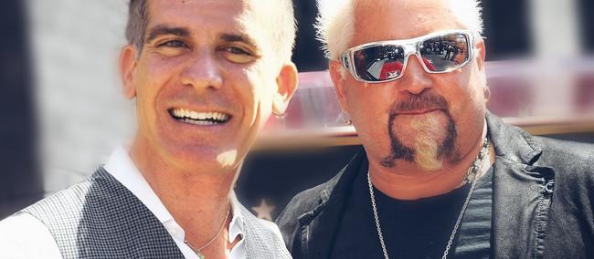 "L.A. Mayor Eric Garcetti Teams Up With Guy Fieri To Rename Skid Row, ""Flavortown"""