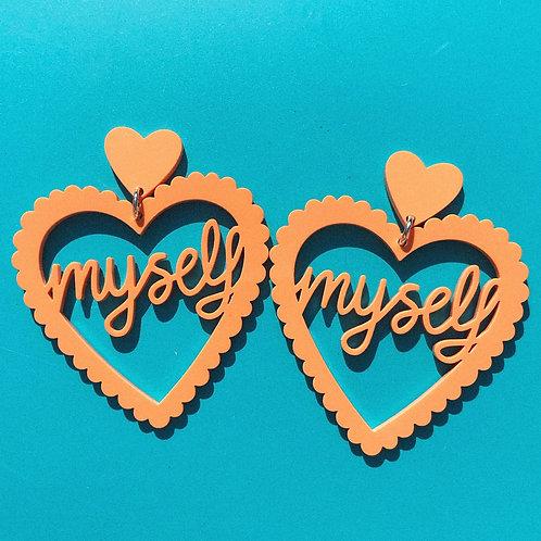 LOVE MYSELF apricot