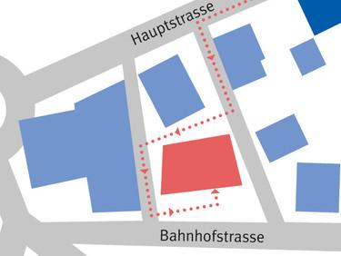 Infolge Neubau ziehen wir in provisorische Ladenräumlichkeiten an der Bahnhofstrasse 1!