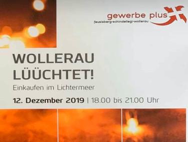 Wollerau lüüchtet am 12. Dezember 2019!