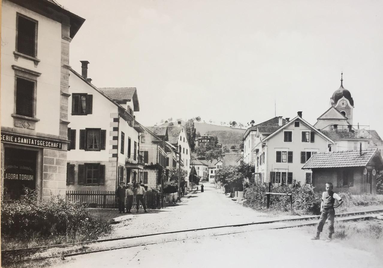 Wollerau, ca. 1900