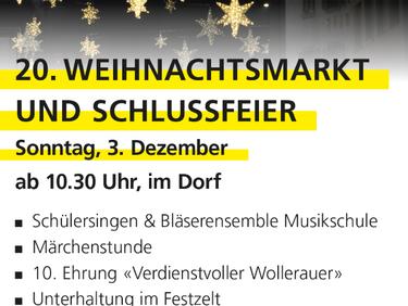 Weihnachtsmärt in Wollerau