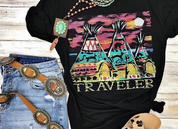 Traveler Tee Pee T Shirt