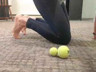 Conditioning the Feet