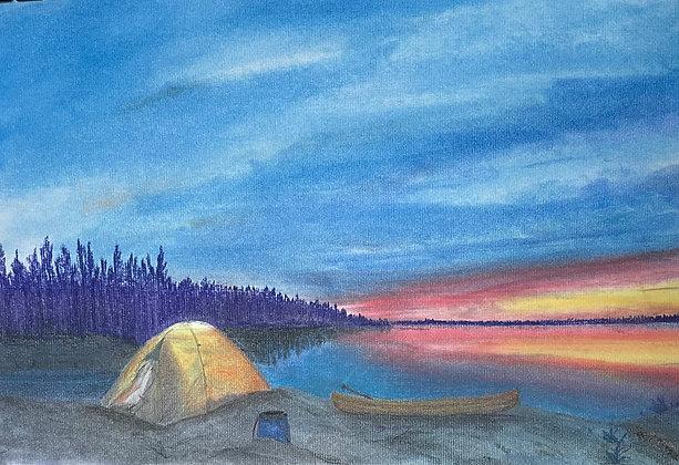 Backcountry Sunset