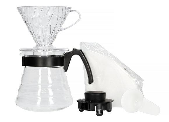 Hario V60 set - V60 02 filter, servirna posoda, filtri