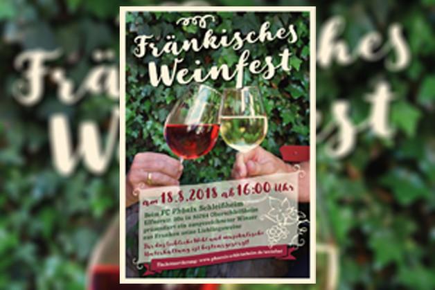 Fränkisches Weinfest - Reservierung ab sofort möglich