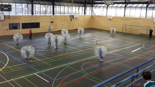 Bubble Soccer...? Unsere E-Junioren haben's erfolgreich probiert