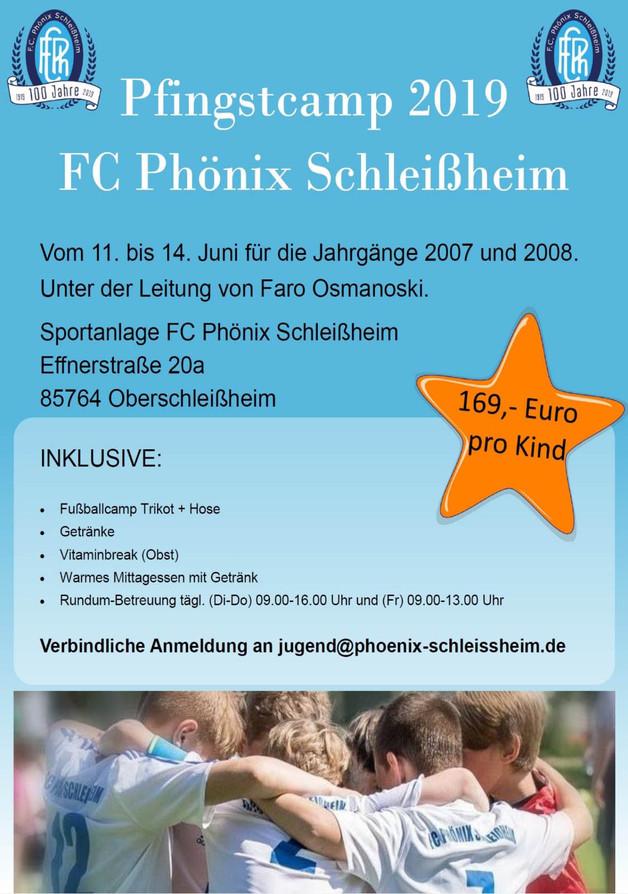 Pfingstcamp 2019 für Jg 2007, 2008 und 2009...jetzt anmelden!