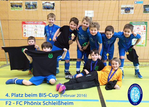 F2 - FC Phönix Schleißheim 4. Platz beim BIS-Cup in Haimhausen