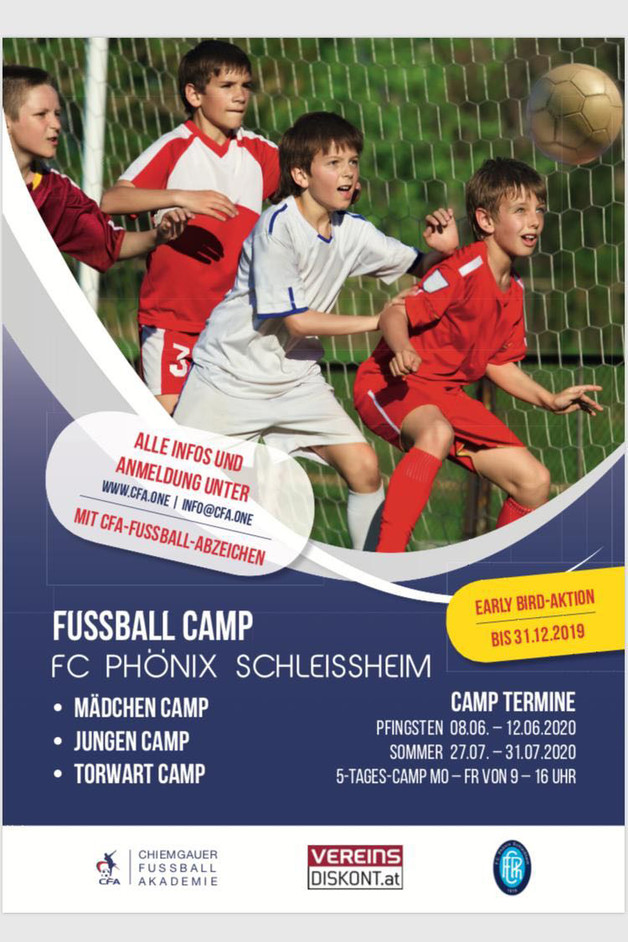 Fußball Camps 2020