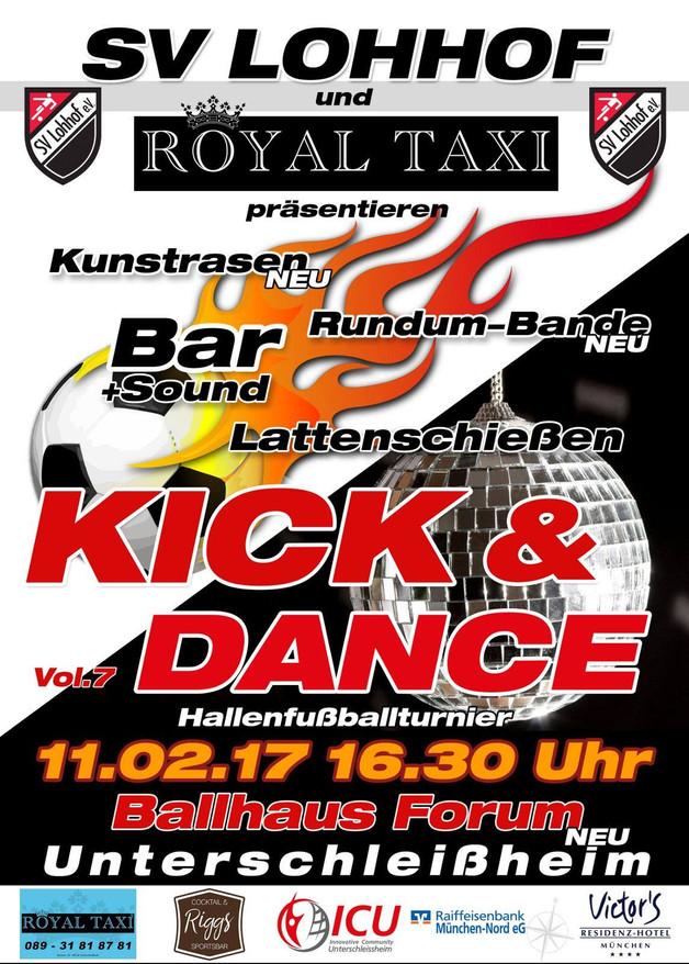 """Herren: Unsere Mannschaft bei """"Kick&Dance"""""""