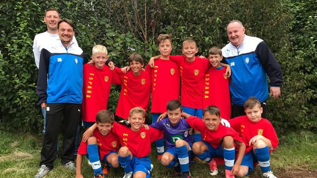 U11 als Selección erfolgreich
