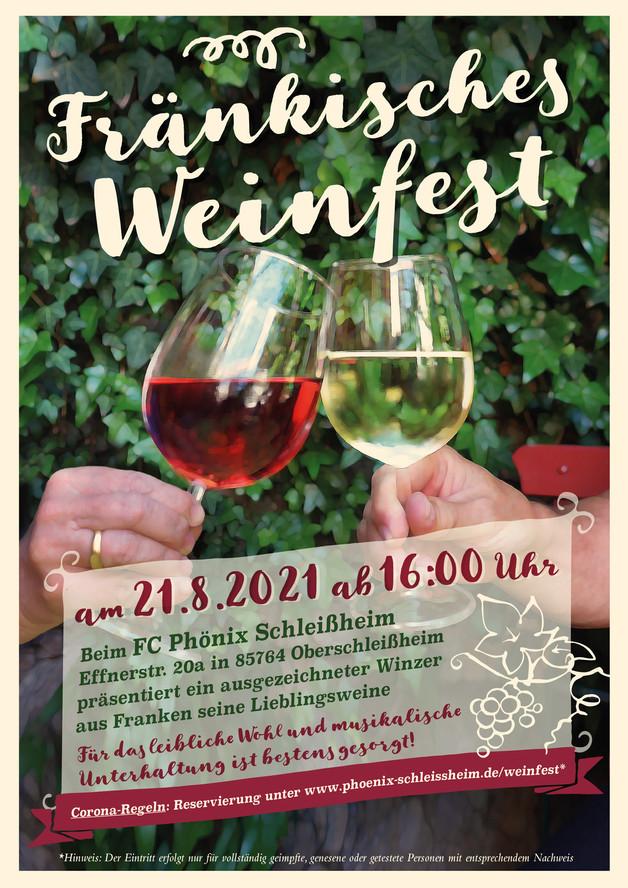 Weinfest findet heuer statt