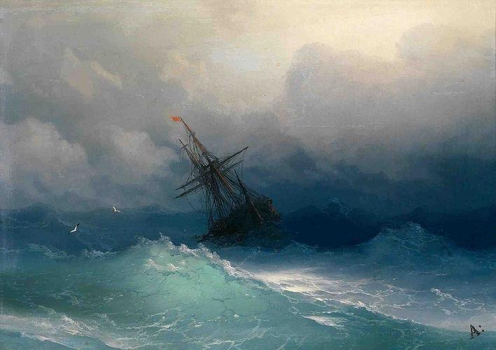 ivan-konstantinovich-aivazovsky-ocean-wa