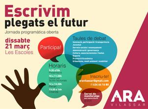 ARA Vilassar: escrivim plegats el futur