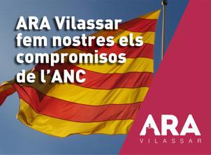 ARA Vilassar fem nostres els compromisos de l'ANC