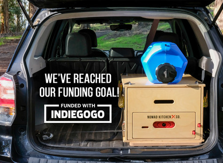 Nomad Kitchen Has Reached Our Funding Goal!