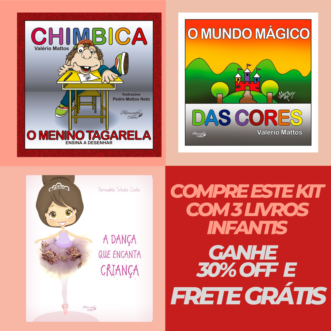 Promoção Livros Infantis - 18 de Abril - Dia Nacional do Livro Infantil