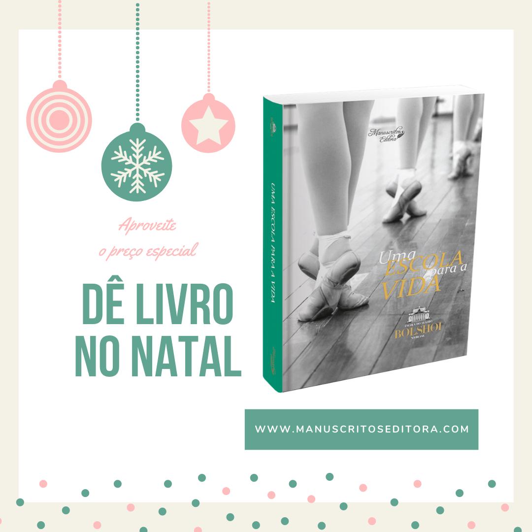 Dê livro no Natal