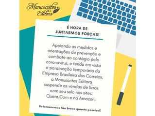 COVID-19 - SUSPENSÃO DE VENDAS