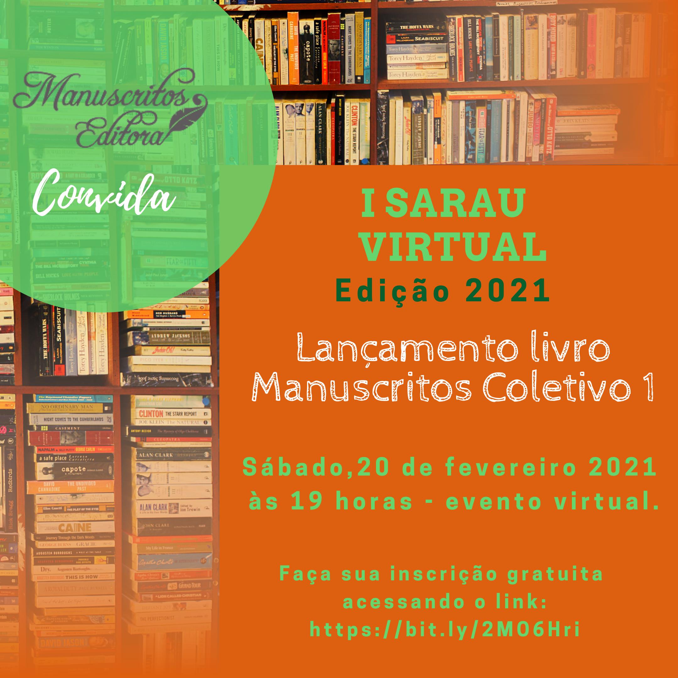 II Sarau Virtual - Edição 2021